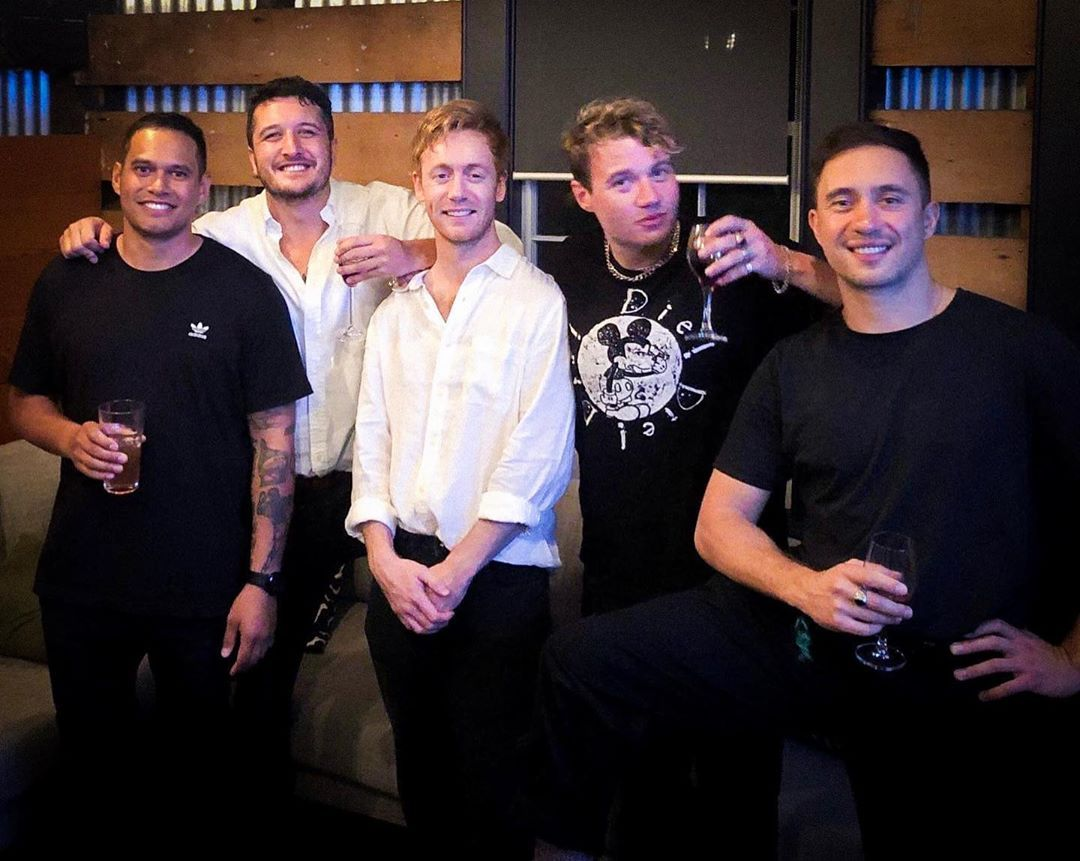 Watch: Six60 celebrate release of new self-titled album