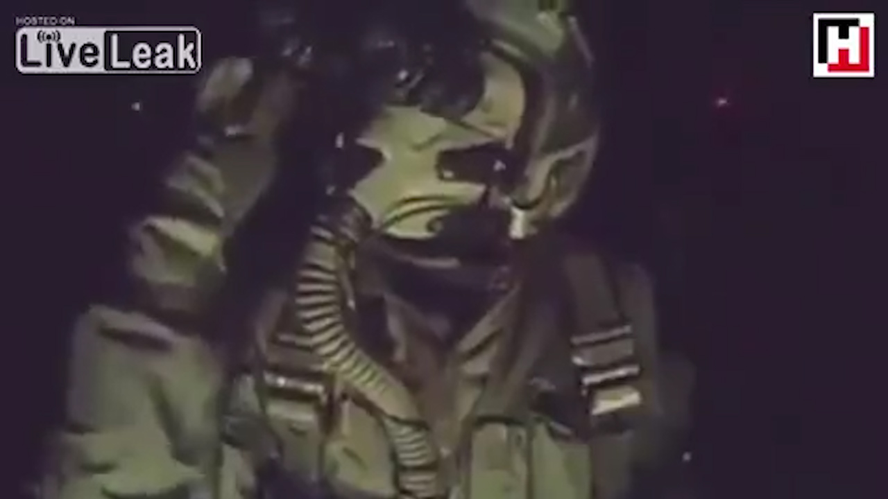 Watch: Turkish pilot doing 'Salt Bae' while allegedly bombing ISIS