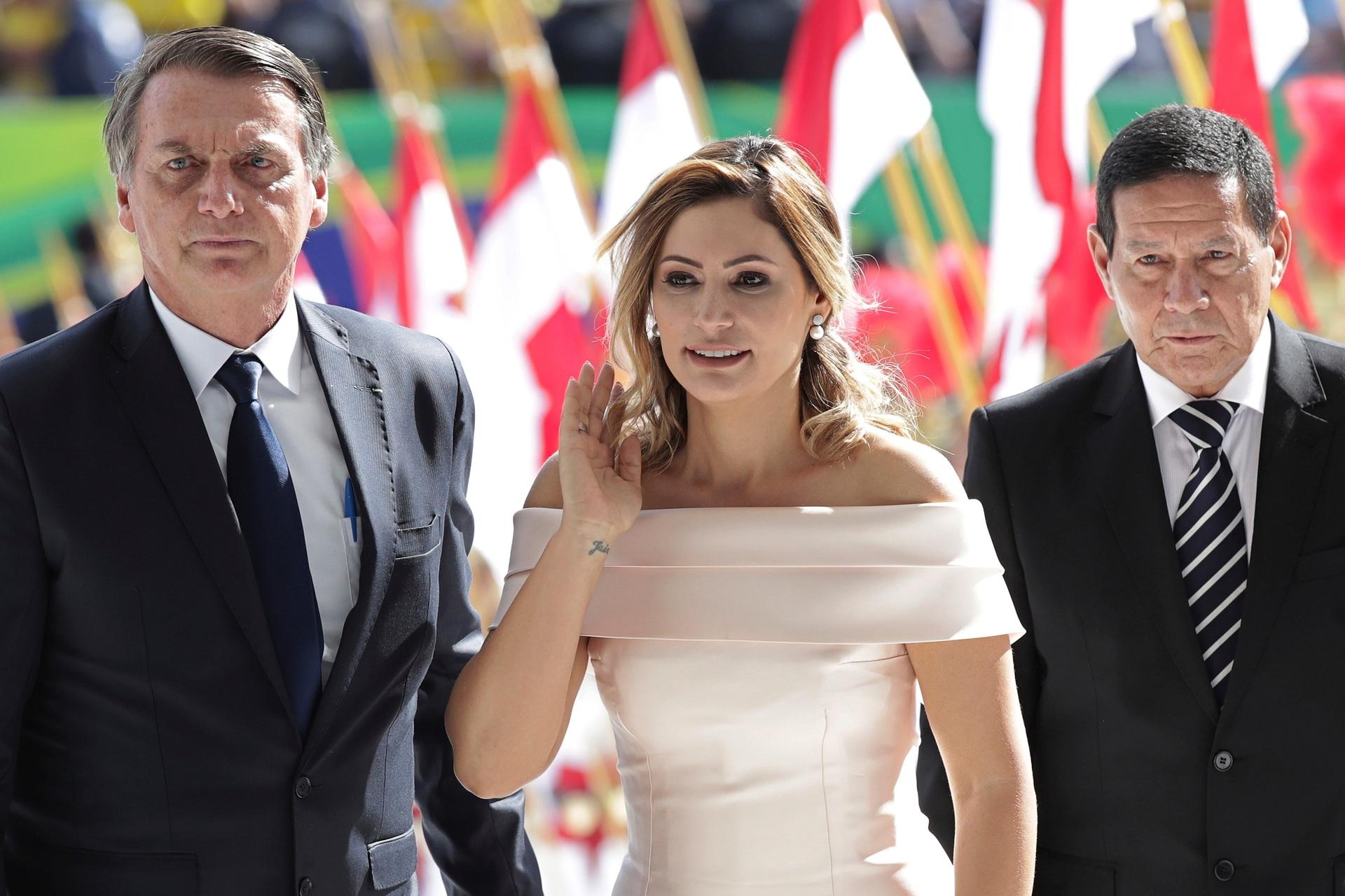 Bolsonaro sworn in as Brazil's president