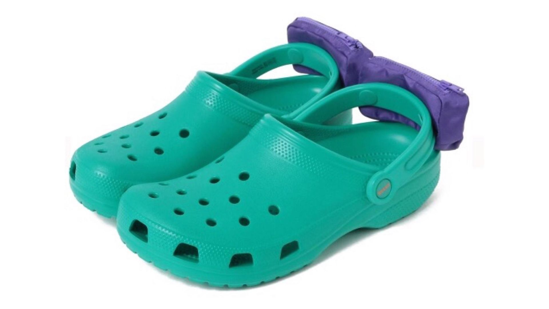 The 80s accessory making Crocs more horrifying