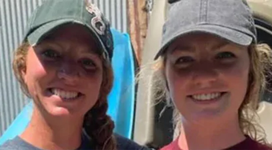 Sisters make 'grizzly' find on kayak trip
