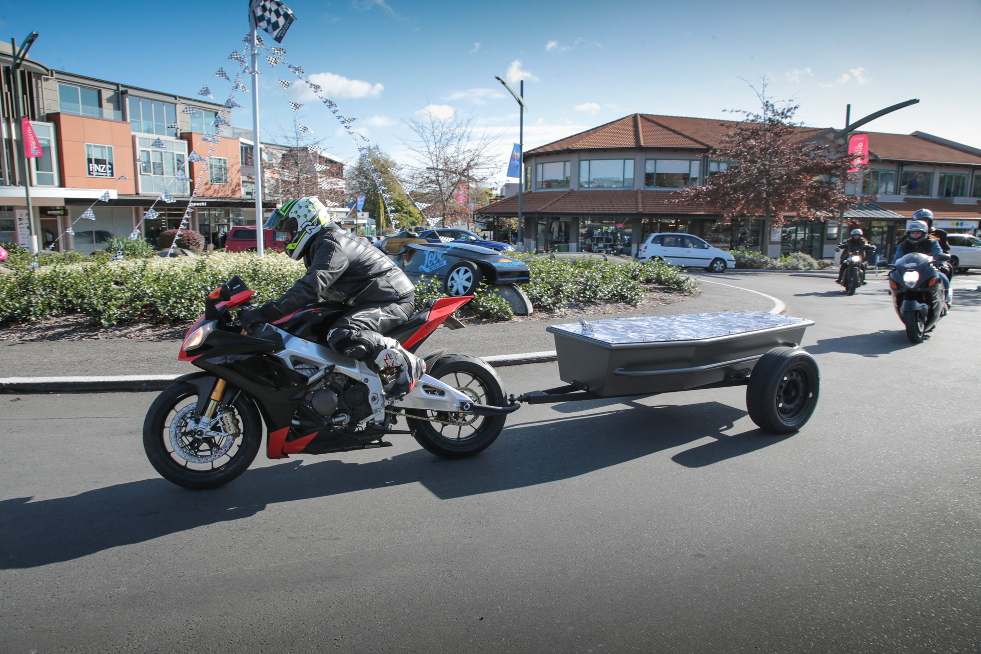 The coffin on the back of the motorbike: Hawke's Bay rider's final journey