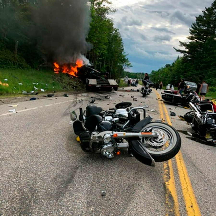 Seven dead bikers: Mystery surrounds horror US crash