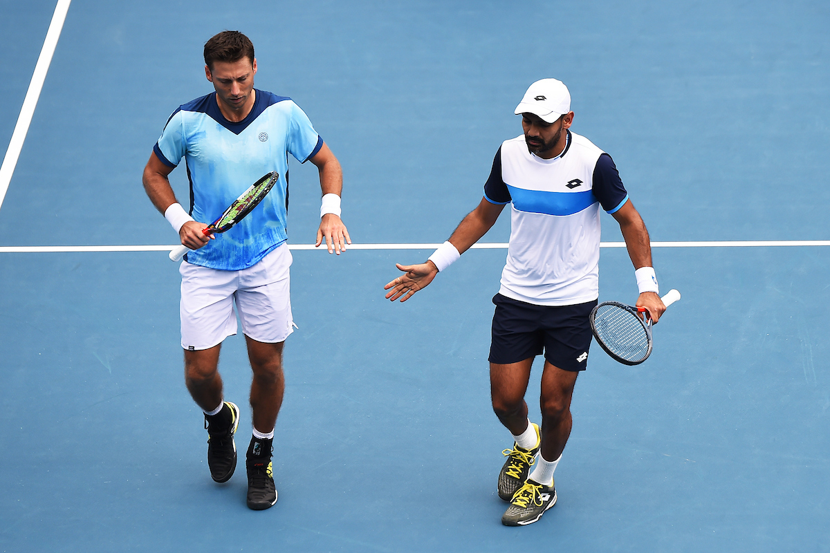 Two Kiwis progress in ASB Classic doubles, while Fognini pulls the pin