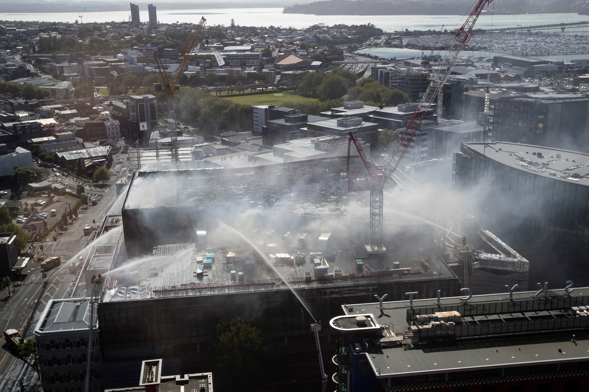 Fire under control but days of disruption ahead