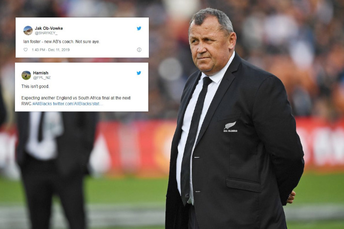 'Rival teams will be relieved': World media reacts to new All Blacks coach