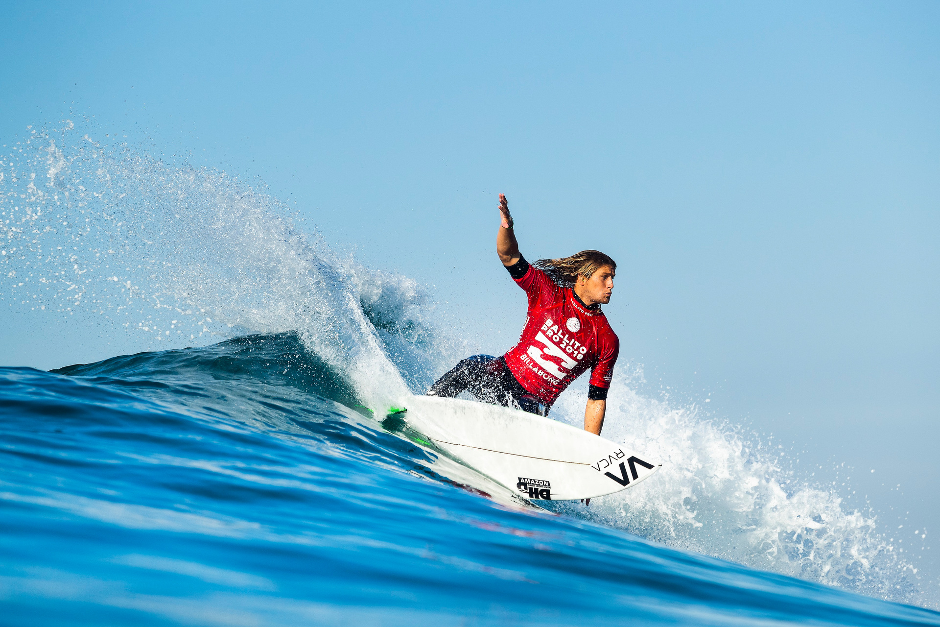 6aaa19d94c Surfing  Ricardo Christie channels  Dad Power  in hot start to World Surf  League Qualifying Series - NZ Herald