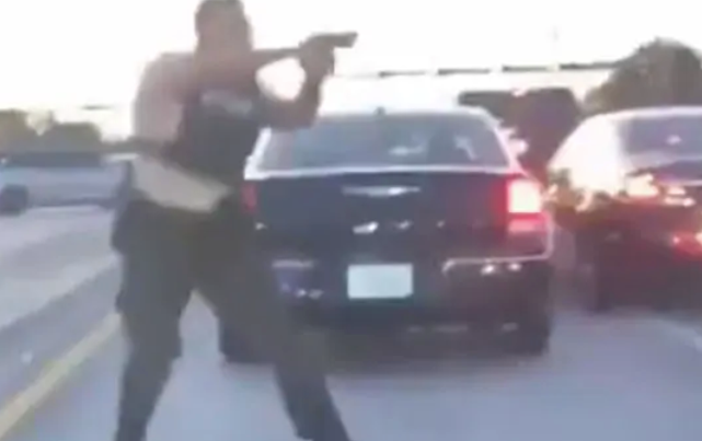 Insane footage from deadly US shootout
