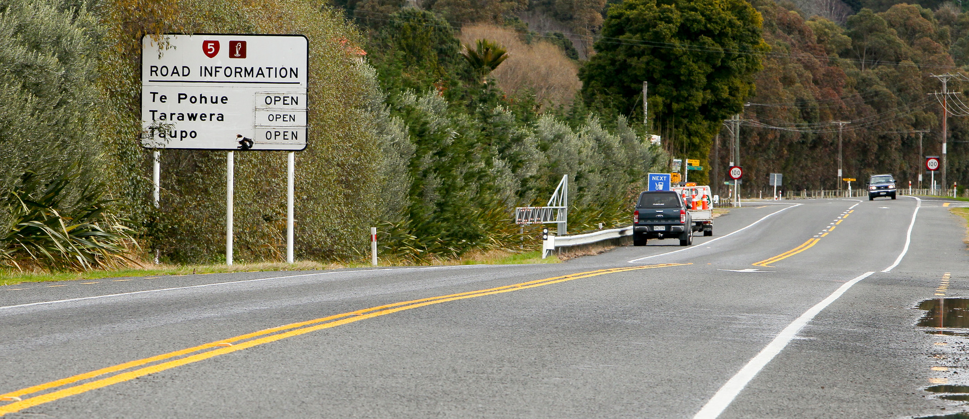 Napier-Taupo Road closed to motorbikes, high-sided vehicles