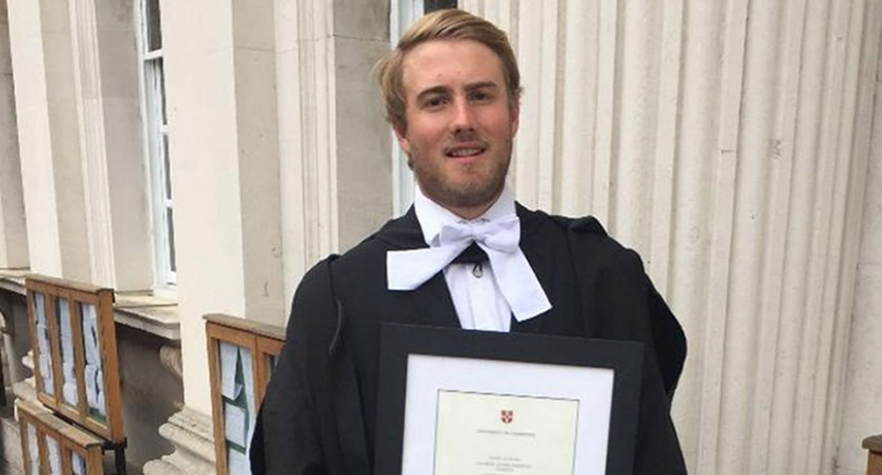 Graduate died after 'party trick' gone wrong