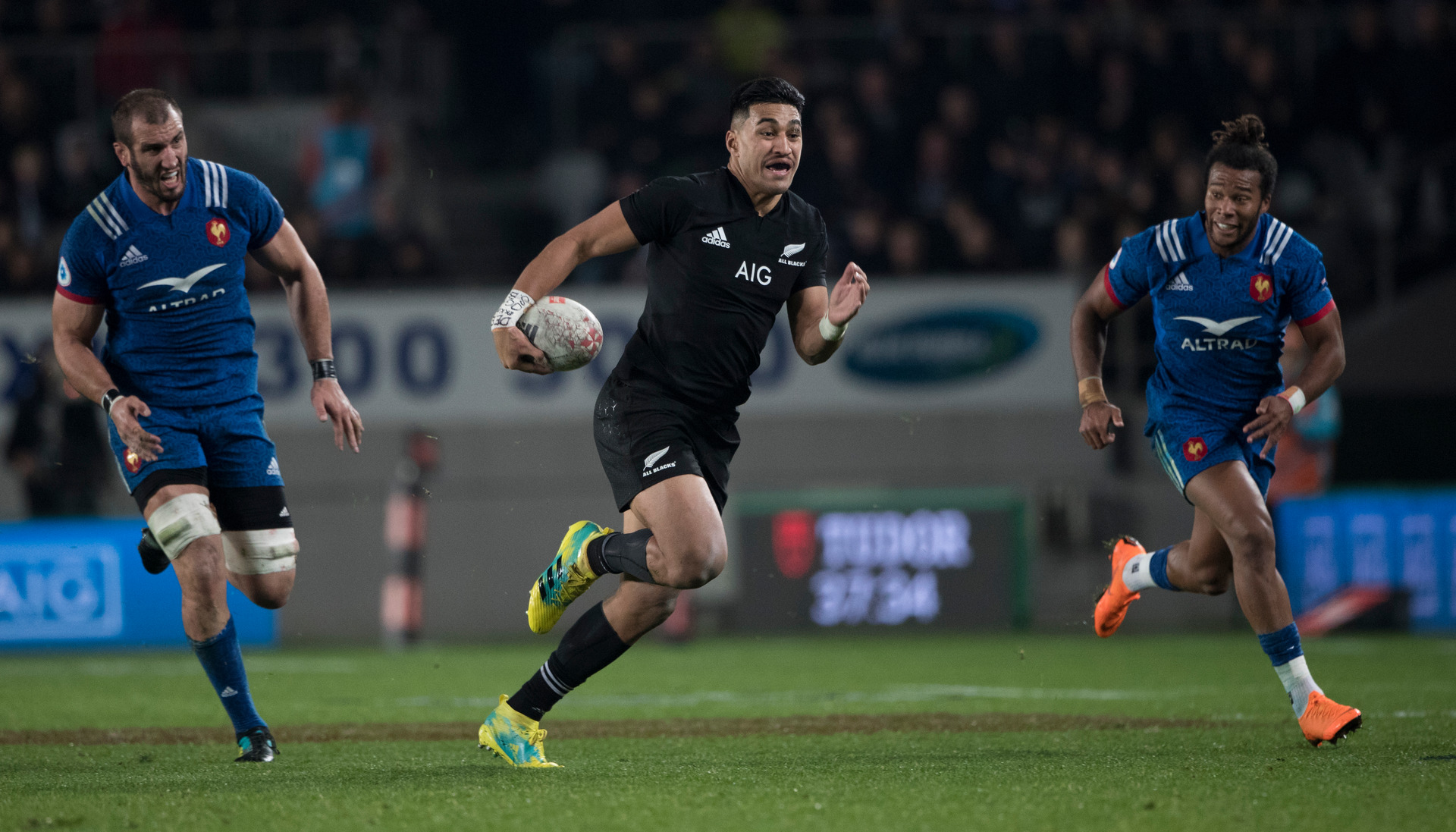 All Blacks: Rieko Ioane's big chance to get back up to speed