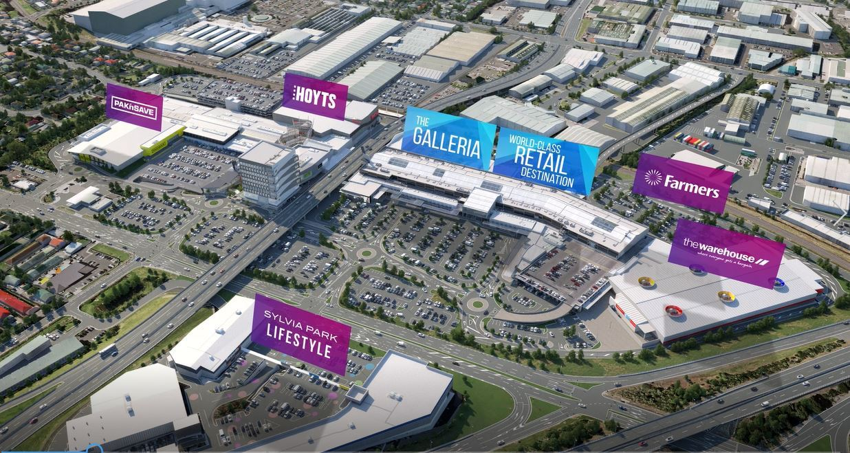 Here come the super-malls: CBD, Newmarket, Sylvia Park expand - NZ