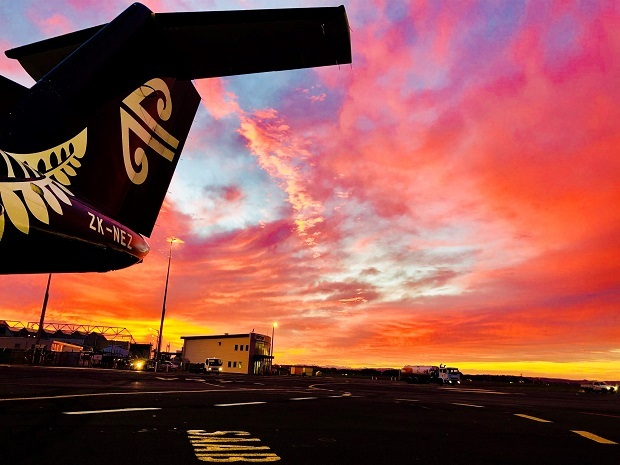 Flying from Auckland to Tauranga with Air New Zealand