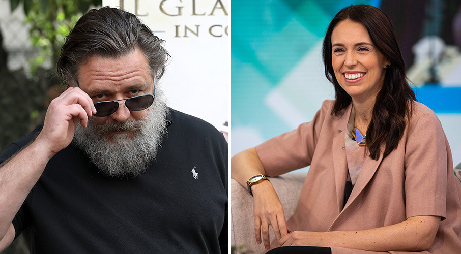 NZ and Australia should merge under Ardern – Russell Crowe