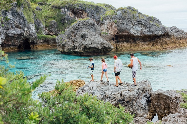 Niue: Roll with the rock