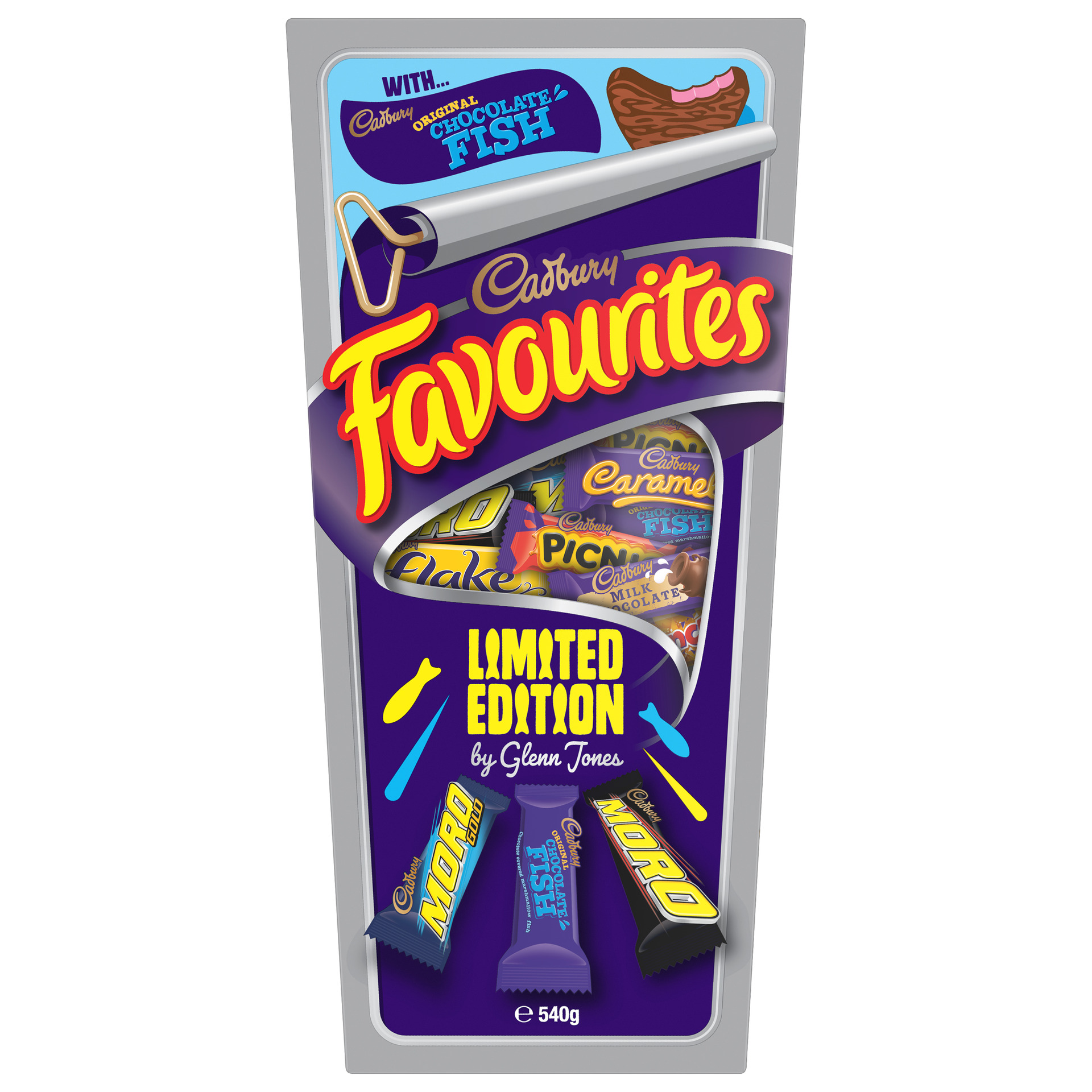 For reel! Cadbury releases Favourites box with chocolate fish
