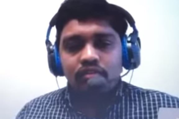 Man busted trying to lip sync through Skype job interview
