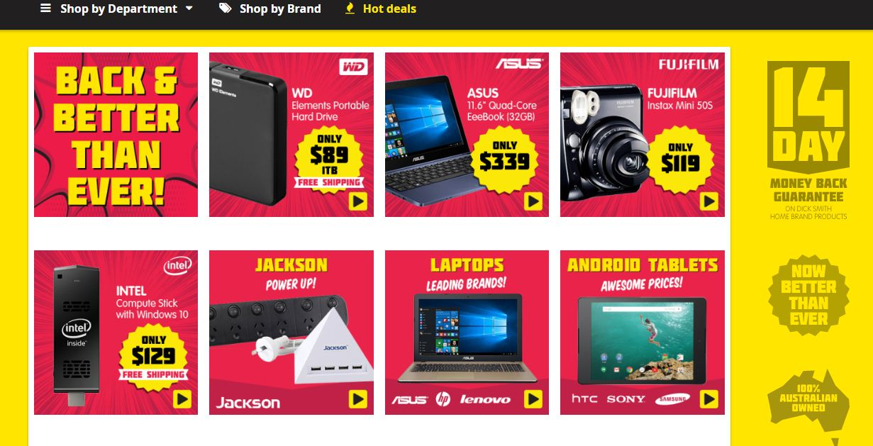 Dick Smith back from the dead