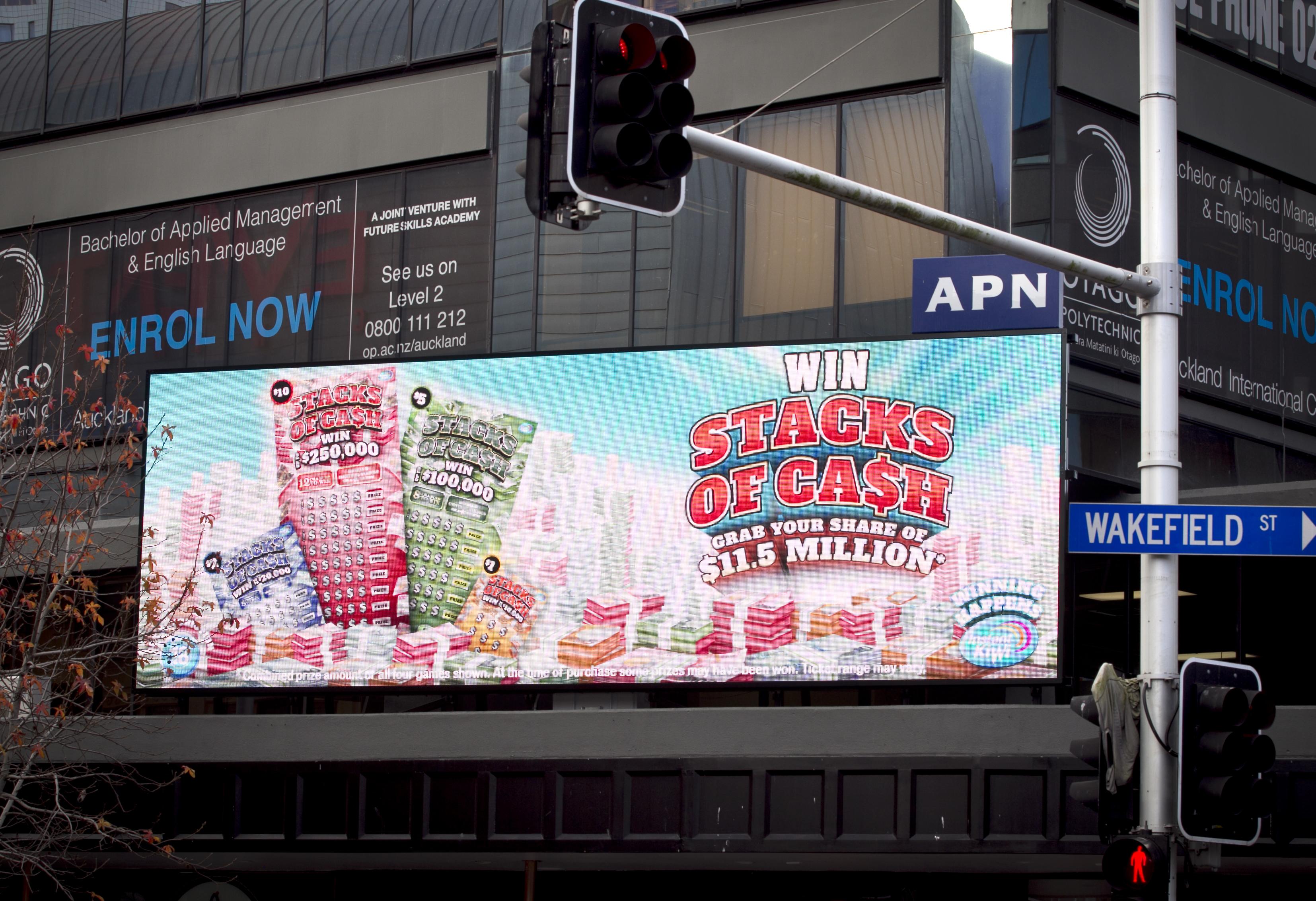 Digital billboards set to shine - NZ Herald
