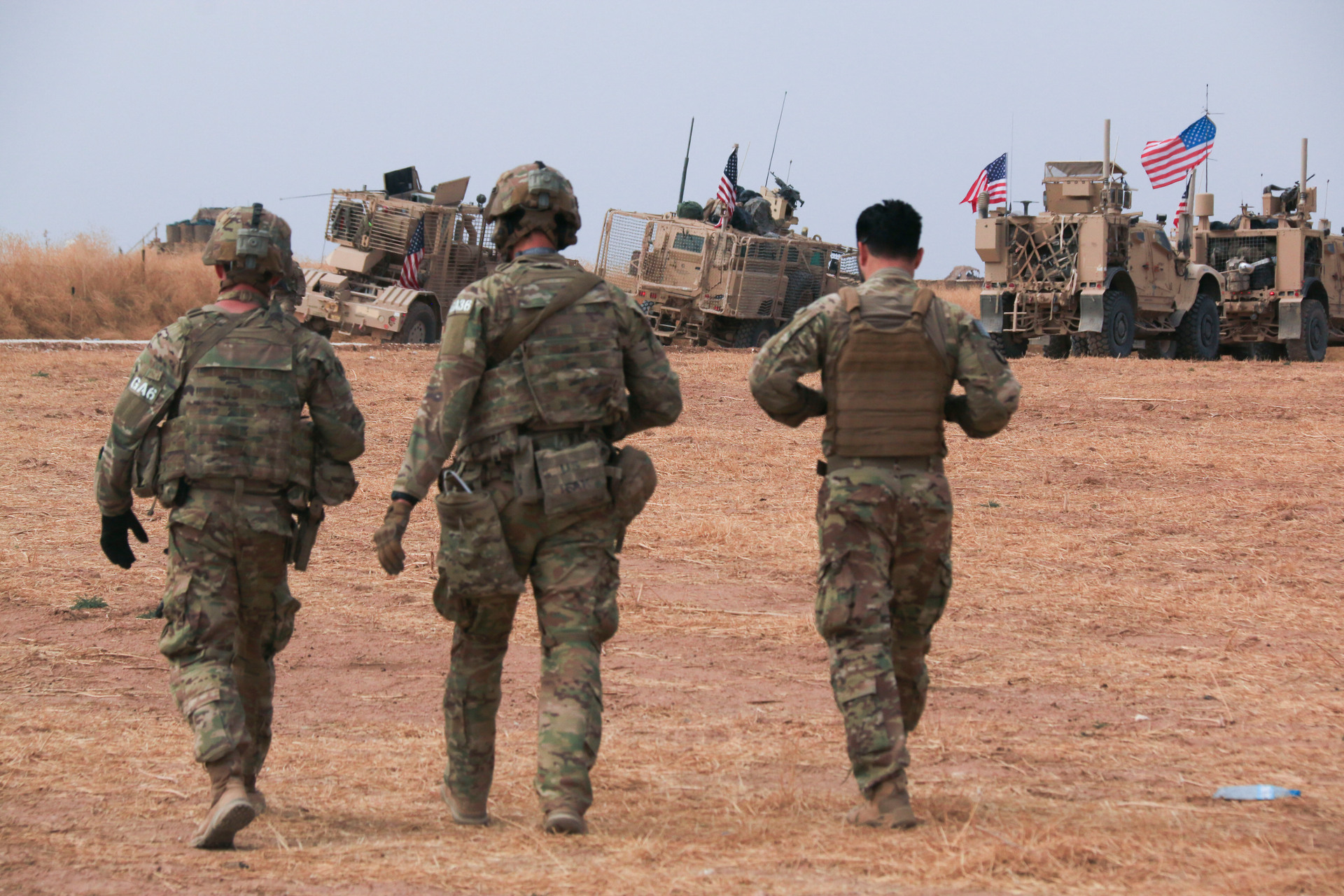 Revealed: US troops pulled out of Syria going to Iraq, not home