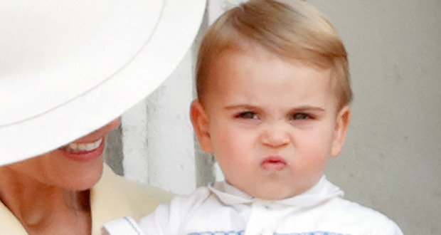 Prince Louis' favourite word - and it's not 'Mum' or 'Dad'