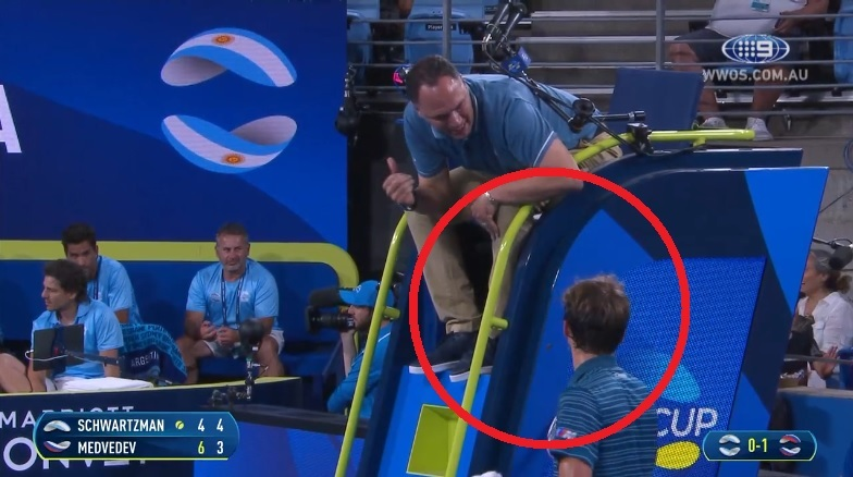Watch: Tennis star lashes out in extraordinary meltdown