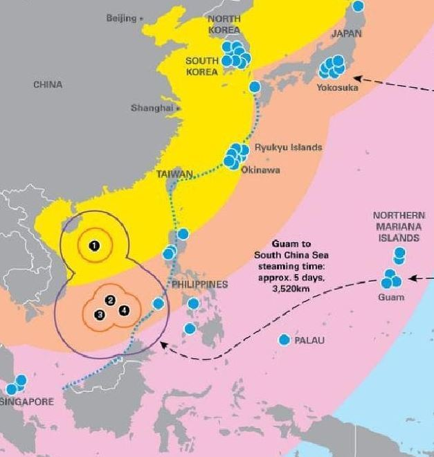 Military might: US now so weakened it could 'lose war' to China