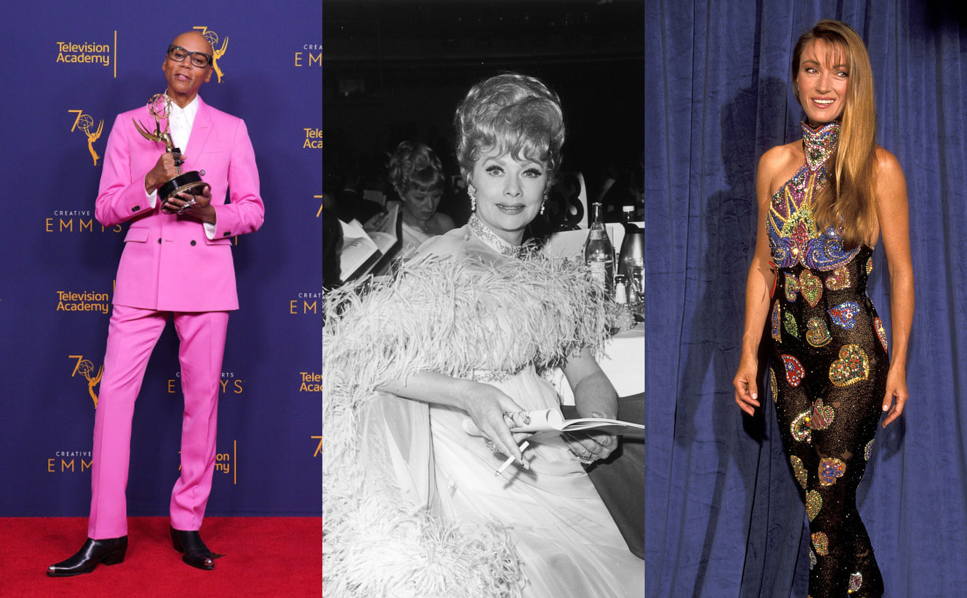The Emmys: Best red carpet looks of all time
