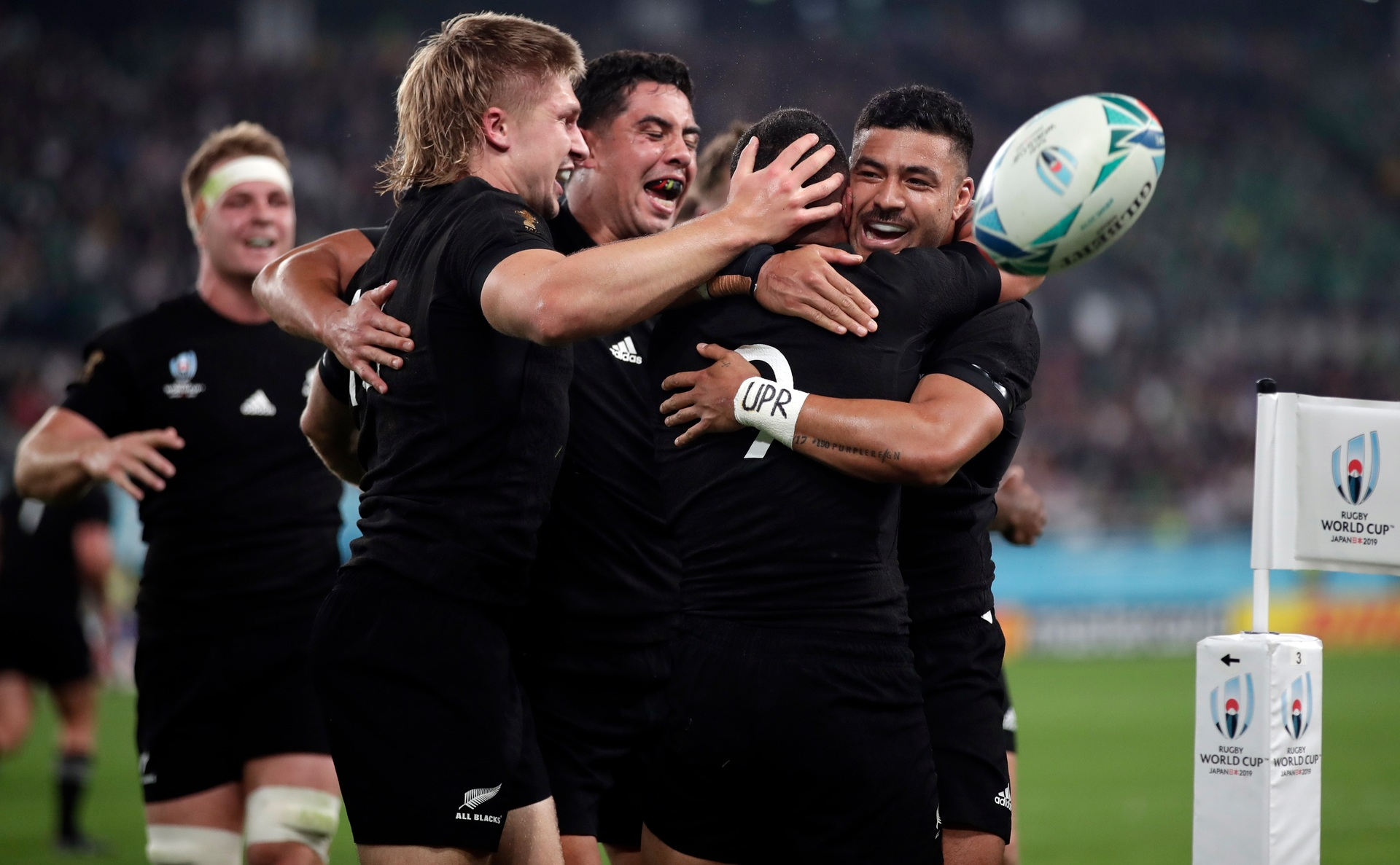 Highest score yet: The top rated All Black according to Herald readers