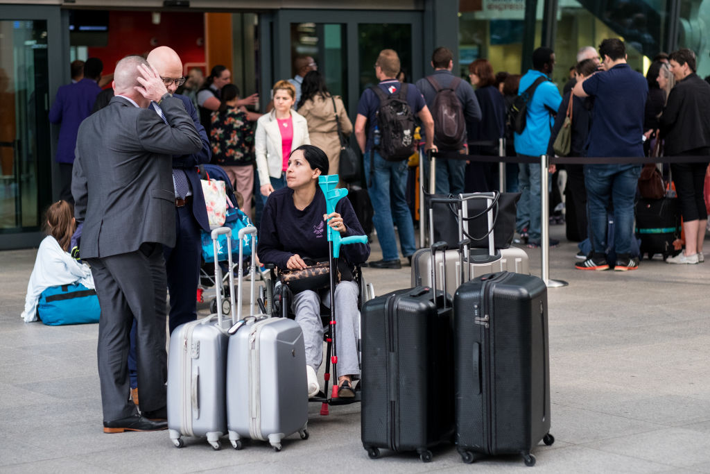 Hundreds of thousands of passengers face chaos at UK airports