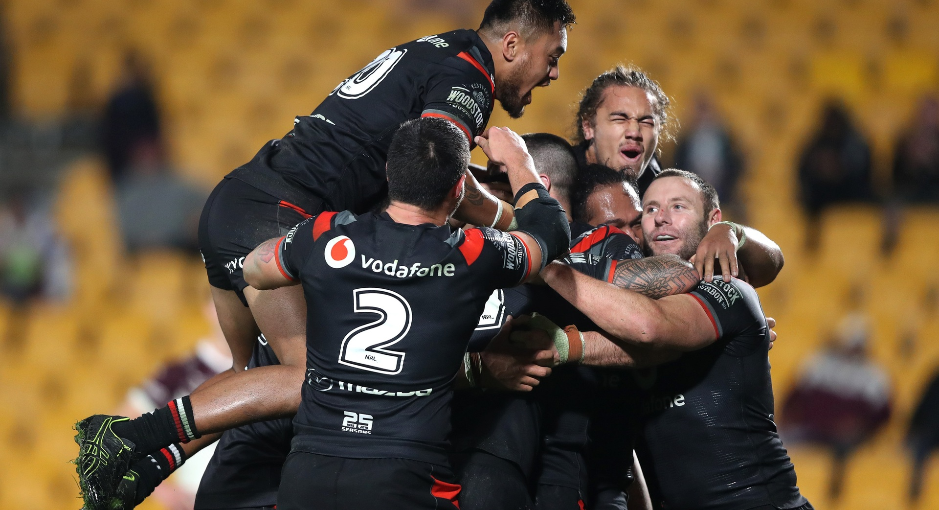 Rugby league: New Zealand Warriors claim shock NRL win over Manly Sea Eagles