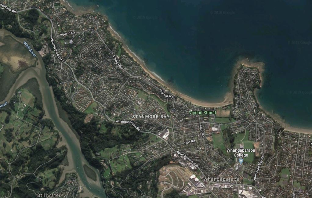 Person critically injured after car and truck crash in Stanmore Bay north of Auckland