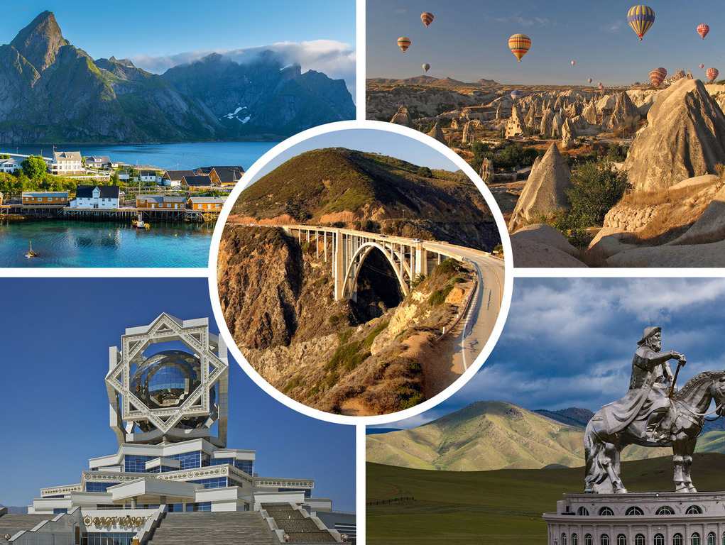 Best of 2019: The 100 Best Places to visit in 2020