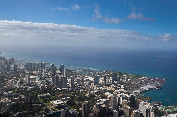 Flying from Honolulu to San Diego with Alaska Airlines