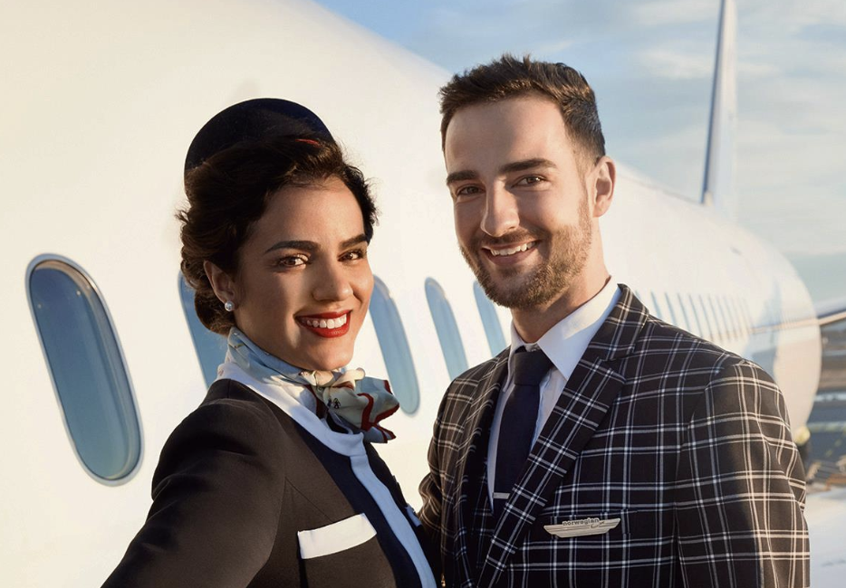 Norwegian Air requires flight attendants to bring a doctor's note to get out of wearing heels
