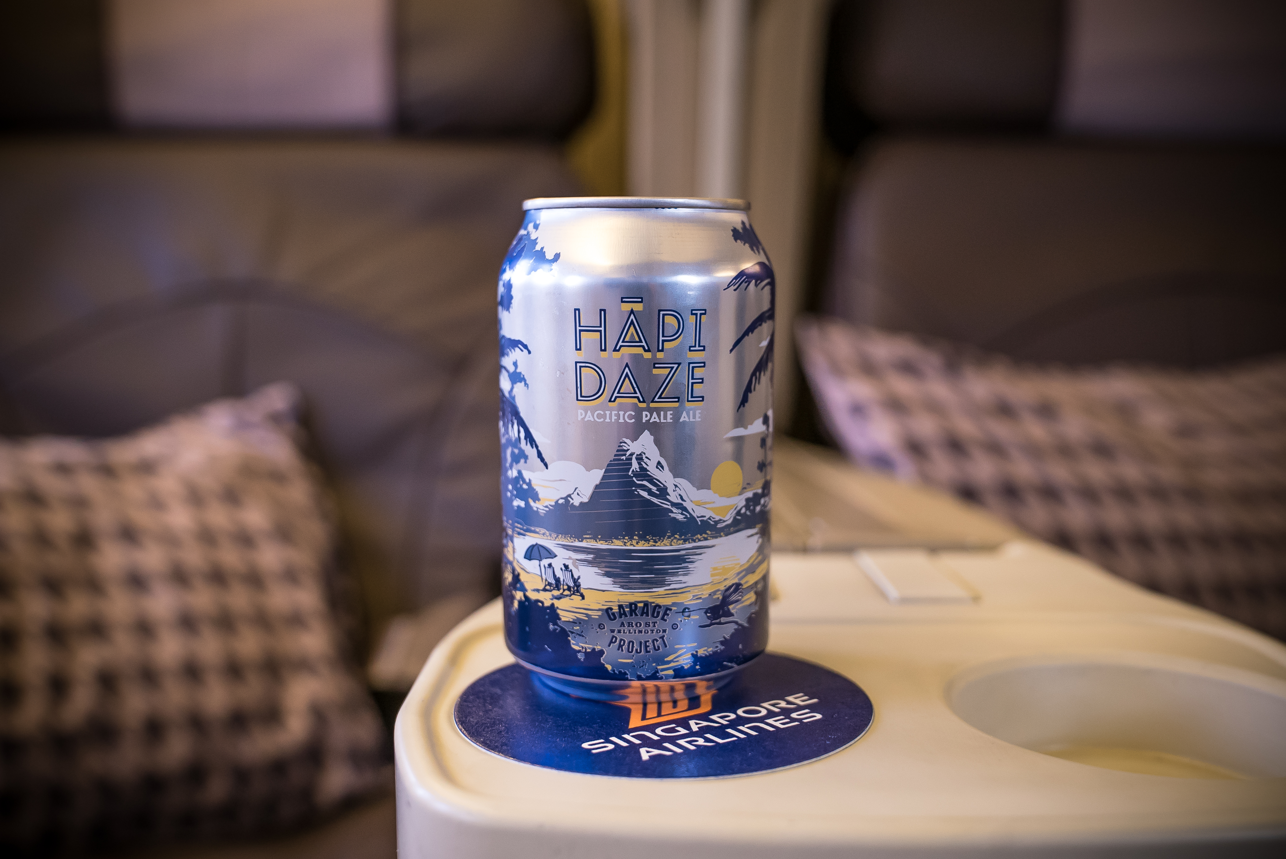 Singapore Airlines Teams Up With New Zealand Craft Brewer Garage