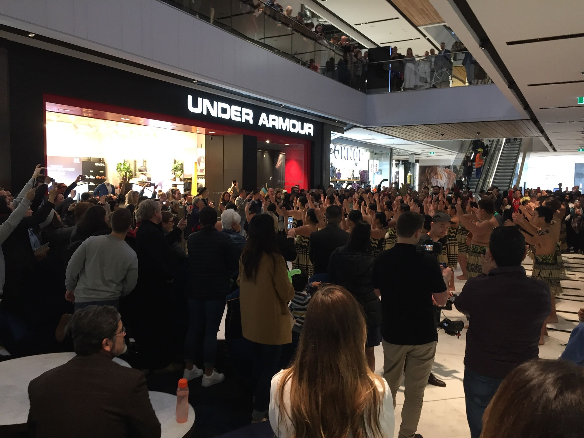 Mega-mall opening: Shoppers rush in for opening day