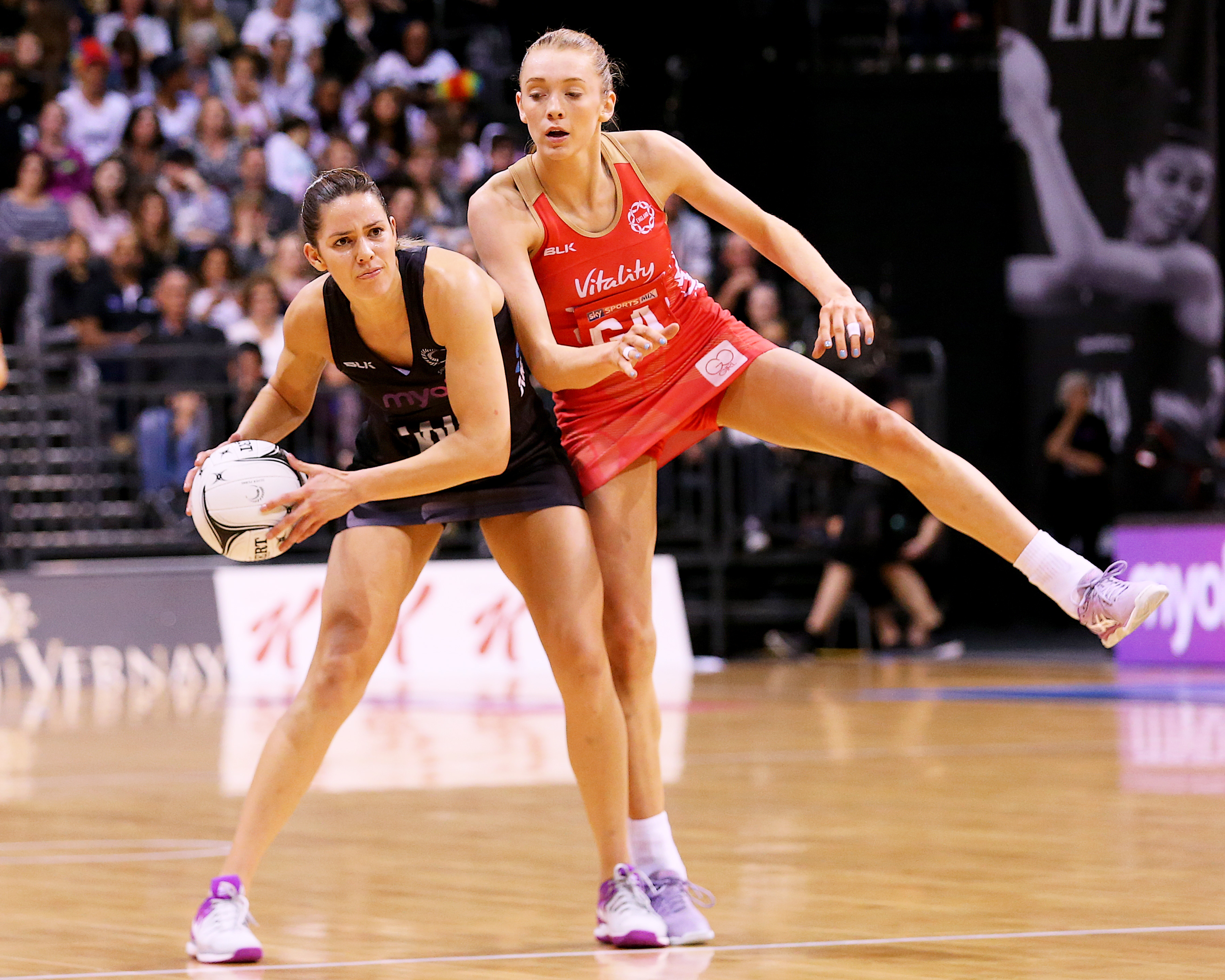 Netball: Silver Ferns fail to close out England and lose Quad Series