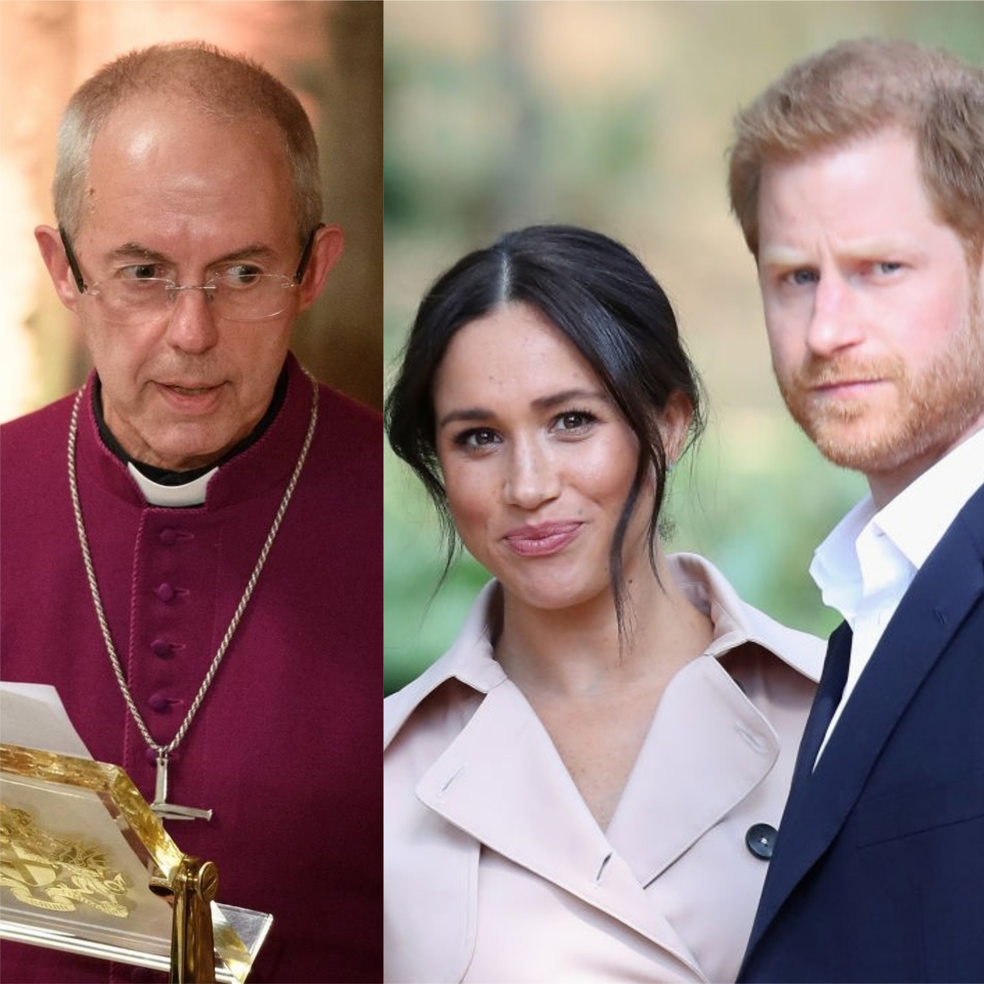 Harry and Meghan have a 'life sentence' says Archbishop of Canterbury