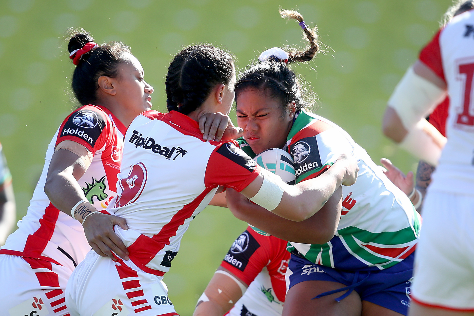 Warriors burnt by late Dragons surge
