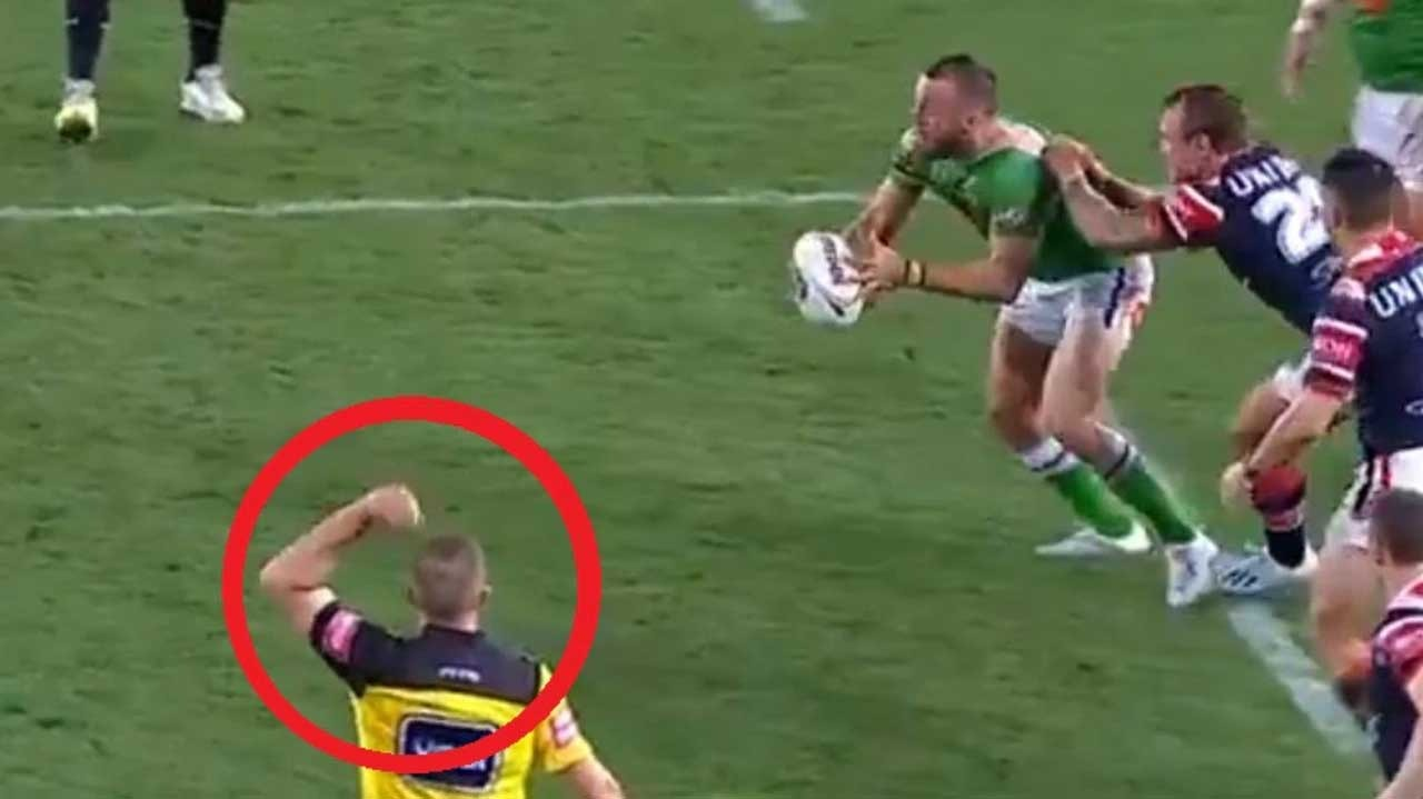 'One of the worst': Fans blow up over ref's grand final howler