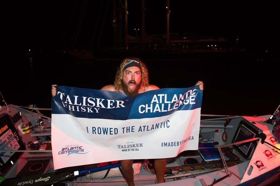 Isaac Giesen first New Zealander to row solo across the Atlantic