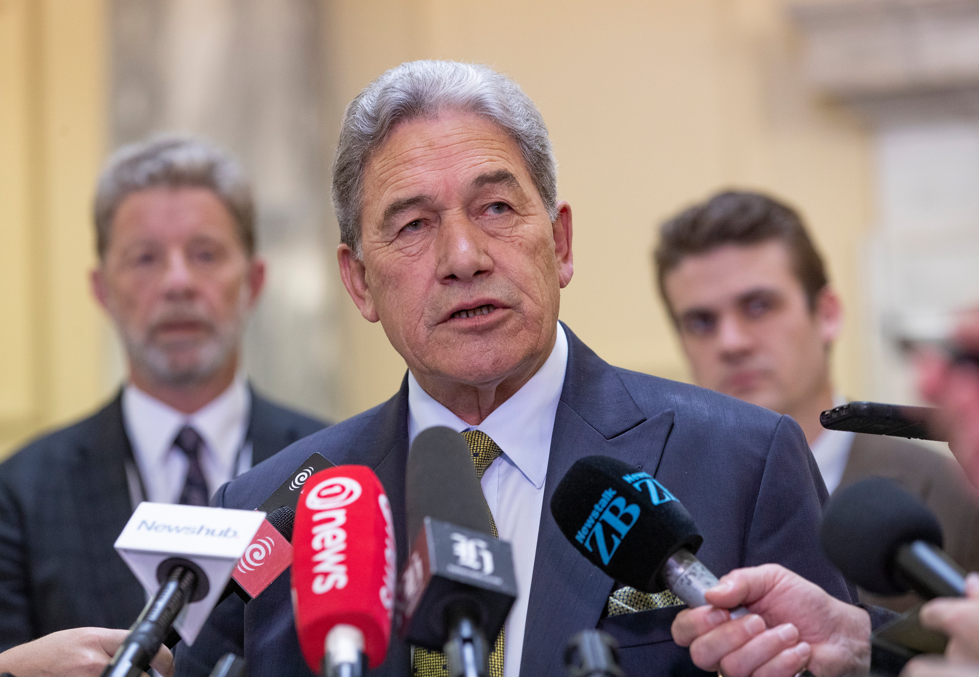 Mike Hosking: We're right to question Winston Peters