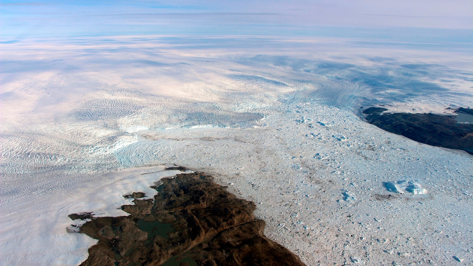 Why a giant glacier bucking the trend and growing in Greenland is bad news for sea levels