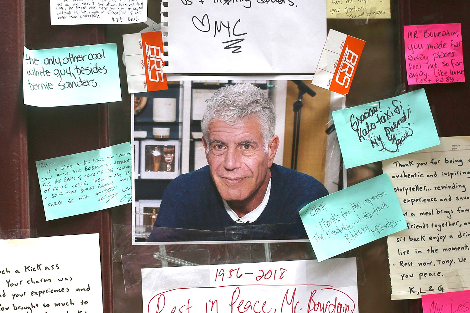 Bourdain's posthumous 'Irreverent travel' guide to be published