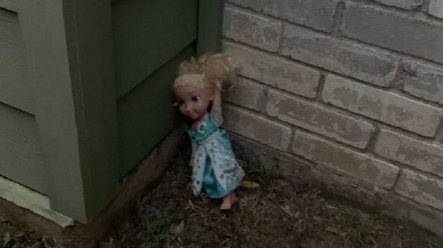 Family believe they are being haunted by Frozen Elsa doll