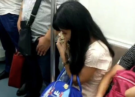 Man forces woman off her train seat, threatens to kill her because of her period