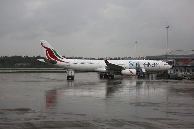 Flying from London Heathrow to Bandaranaike Airport, Colombo aboard Sri Lankan Airlines