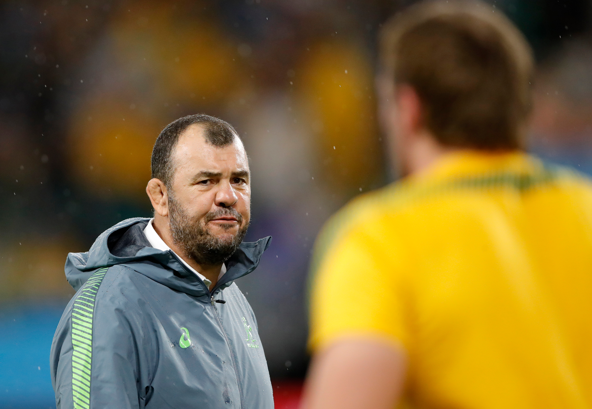 It's Sticky going as Michael Cheika has chip at Eddie Jones