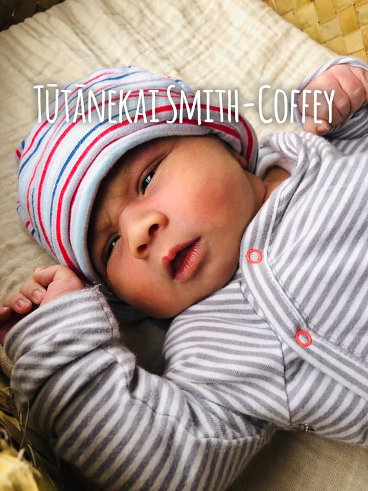 Labour MP Tāmati Coffey and husband Tim Smith choose name for baby son
